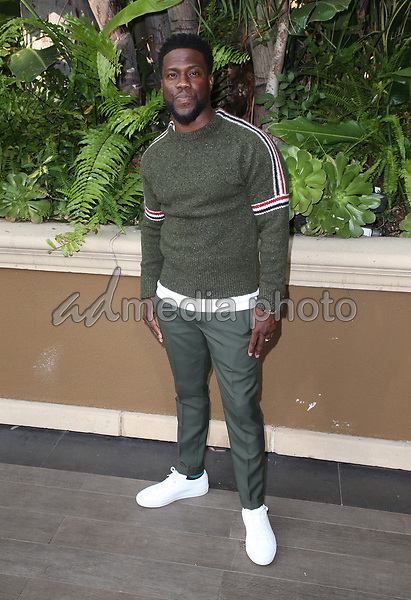 """30 October 2018 - Beverly Hills, California - Kevin Hart. """"The Upside"""" Photo Call held at The Four Seasons Beverly Hills. Photo Credit: Faye Sadou/AdMedia"""