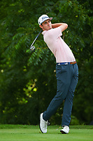 J.T. Poston (USA) watches his tee shot on 6 during round 2 of the 2019 Charles Schwab Challenge, Colonial Country Club, Ft. Worth, Texas,  USA. 5/24/2019.<br /> Picture: Golffile   Ken Murray<br /> <br /> All photo usage must carry mandatory copyright credit (© Golffile   Ken Murray)