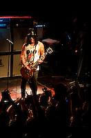 Slash plays Irving Plaza in New York City on May 22, 2012.<br /> Photo:Jen Maler/MediaPunch/NortePhoto.com