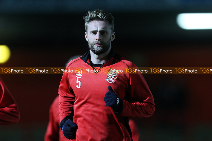 Fraser Franks of Stevenage during Stevenage vs Leyton Orient, Sky Bet EFL League 2 Football at the Lamex Stadium on 28th February 2017