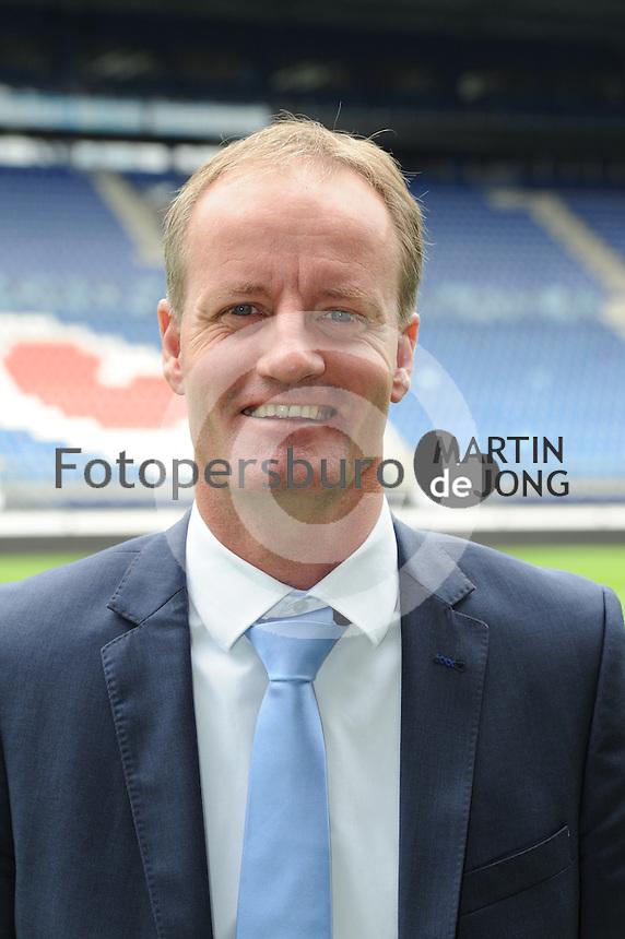 VOETBAL: HEERENVEEN: Abe Lenstra stadion 18-08-2014, Hans Vonk Manager voetbalzaken SC Heerenveen, ©foto Martin de Jong