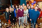 Sean O'Connor from Killarney celebrated his 40th birthday surrounded by friends and family in the K-Town Bar, Killarney last Saturday night.
