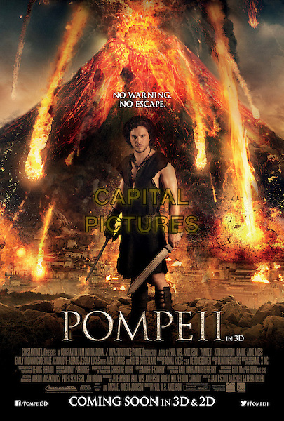 POSTER ART<br /> in Pompeii (2014) <br /> *Filmstill - Editorial Use Only*<br /> CAP/NFS<br /> Image supplied by Capital Pictures