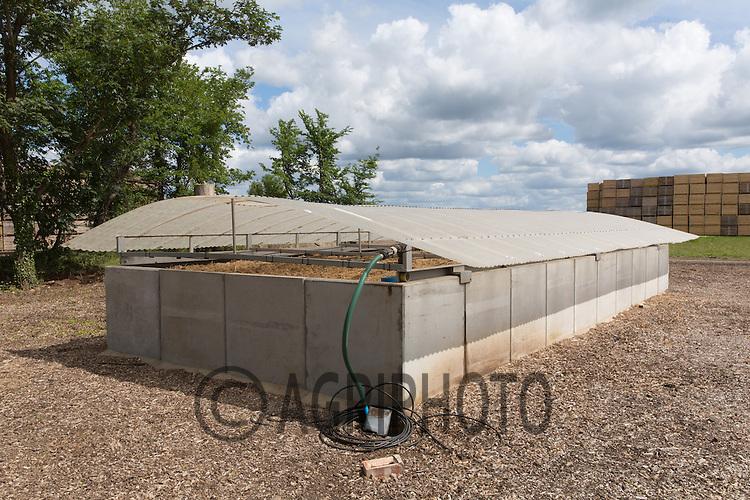 On farm Biobed<br /> Picture Tim Scrivener 07850 303986