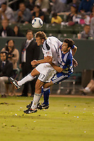 The LA Galaxy defeated FC Dallas 3-1 during a Major League Soccer game at Home Depot Center stadium in Carson, California on Saturday August 6, 2011.
