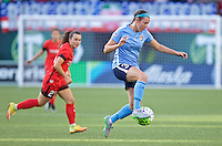 Portland, OR - Saturday July 02, 2016: Erin Simon during a regular season National Women's Soccer League (NWSL) match between the Portland Thorns FC and Sky Blue FC at Providence Park.