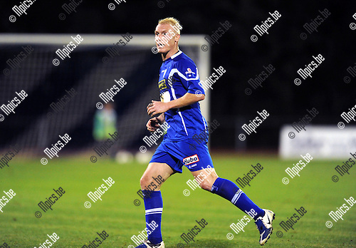 2013-08-15 / Voetbal / seizoen 2013-2014 / KV Turnhout / Roel Van Hemert<br /><br />Foto: Mpics.be