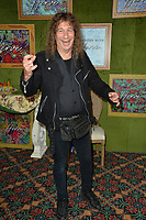 LOS ANGELES, CA. October 04, 2018: Steve &quot;Lips&quot; Kudlow of rock group Anvil at the Los Angeles premiere for &quot;My Dinner With Herve&quot; at Paramount Studios.<br /> Picture: Paul Smith/Featureflash