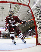 Matt Irwin (UMass - 44) - The Boston College Eagles defeated the University of Massachusetts-Amherst Minutemen 5-2 on Saturday, March 13, 2010, at Conte Forum in Chestnut Hill, Massachusetts, to sweep their Hockey East Quarterfinals matchup.