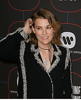 LOS ANGELES, CA - FEBRUARY 07: Brandi Carlile attends the Warner Music Pre-Grammy Party at the NoMad Hotel on February 7, 2019 in Los Angeles, California.  <br /> CAP/MPI/IS<br /> &copy;IS/MPI/Capital Pictures