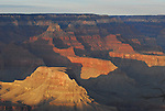 Grand Canyon South Rim at sunset