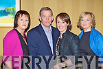 Helen Fitzgerald, Con O'Sullivan, Bernice McMonagle and Ann Wrenn enjoying the Killarney Athletic fashion show in the Killarney Avenue Hotel on Thursday night