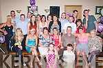 3075-3079.---------.Key to the door.---------------.Louise O Connor(seated centre)from Farronfour celebrated her 21st birthday last Saturday night in the Kerins O Rahillys GAA clubhouse Strand Rd Tralee with her parents Pat&Tricia,sisters Kim&Emma,brother Mark and lots of friends and family.