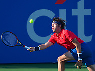 Washington, DC - July 31, 2017: Jared Donaldson of the USA plays during a match with Dudi Sela at the Citi Open July 31, 2017.  (Photo by Don Baxter/Media Images International)