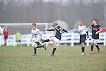 Germantown Legends Black vs. SMSC Earthquake in The John Talley Showcase & Shootout at the Mike Rose Soccer Complex in Memphis, Tenn. on Sunday, March 22, 2015.SMSC Earthquake won on penalty kicks following a 2-2 tie at the end of regulation.