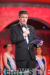 Rose of Tralee CEO, Anthony O'Gara speaking at the Tuesday night Rose Selection at the Dome.