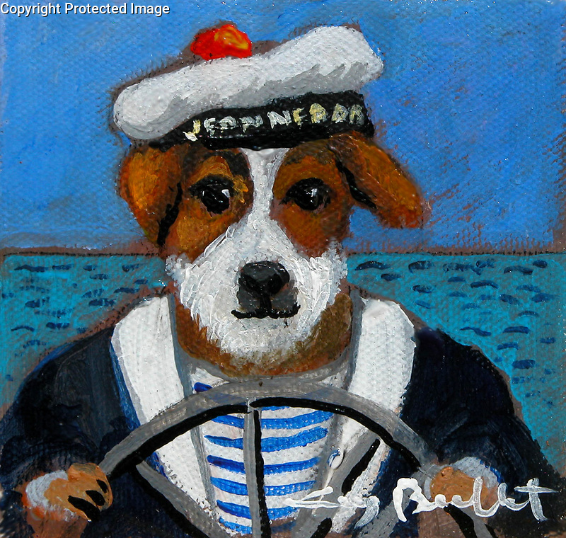 Example 1 Pet Acrylic on Canvas<br />