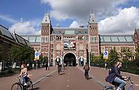 Nederland  Amsterdam - 2020.  Het Rijksmuseum.  Foto  ANP / Hollandse Hoogte / Berlinda van Dam