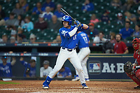 Luke Becker (10) of the Kentucky Wildcats at bat against the Louisiana Ragin' Cajuns in game seven of the 2018 Shriners Hospitals for Children College Classic at Minute Maid Park on March 4, 2018 in Houston, Texas.  The Wildcats defeated the Ragin' Cajuns 10-4. (Brian Westerholt/Four Seam Images)