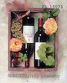 Interlitho, Alberto, STILL LIFES, photos, wine, grapes(KL16073,#I#) Stilleben, naturaleza muerta