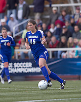 Hofstra University defender Brooke Bendernagel (15) at midfield. Boston College defeated Hofstra University, 3-1, in second round NCAA tournament match at Newton Soccer Field, Newton, MA.