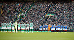 29.12.2019 Celtic v Rangers: Minutes applause from both teams