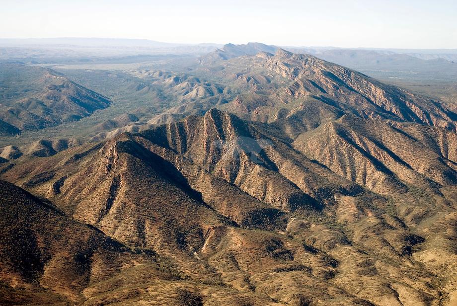 Flinders ranges is de langste gebergte keten van Australi'