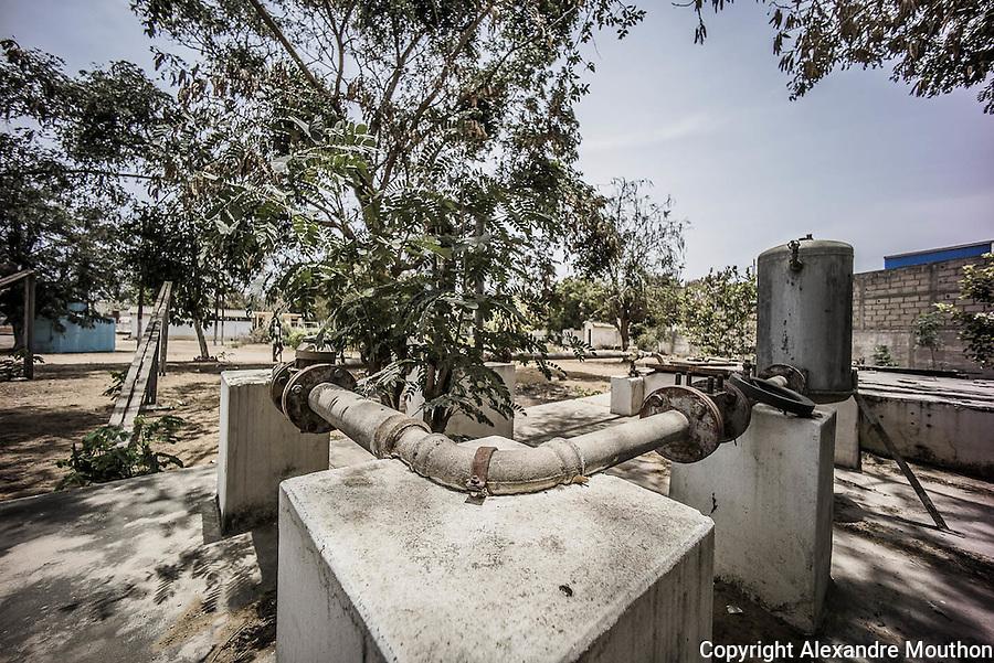 Les pompes solaires thermiques sont mises au point dans le laboratoire de recherches universitaire autonome rattaché à l'Université Cheikh Anta Diop de Dakar, le CERER. La première verra le jour, avec le soutien du CNRS, en 1963.