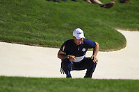 Patrick Reed (Team USA) during Sunday Singles matches at the Ryder Cup, Hazeltine National Golf Club, Chaska, Minnesota, USA. 02/10/2016<br /> Picture: Golffile   Fran Caffrey<br /> <br /> <br /> All photo usage must carry mandatory copyright credit (&copy; Golffile   Fran Caffrey)