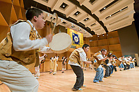 Athabascans dance at the 2006 Festival of Native Arts, Native dance and art celebration in Fairbanks, Alaska