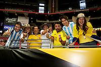 Photo before the match United States vs Colombia Corresponding for third place in the America Cup Centenary 2016 at University of Phoenix Stadium.<br /> <br /> Foto previo al partido Estados Unidos vs Colombia, Correspondiente por el tercer lugar de la Copa America Centenario 2016, en el Estadio de la Universidad de Phoenix, en la foto: Fans<br /> <br /> <br /> 25/06/2016/MEXSPORT/Victor Posadas.