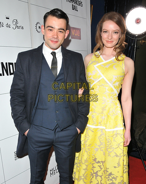 guest and Dakota Blue Richards at the Raindance Independent Filmmaker's Ball, Cafe de Paris, Coventry Street, London, England, UK, on Wednesday 26 April 2017.<br /> CAP/CAN<br /> &copy;CAN/Capital Pictures