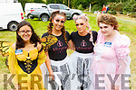Orla Mahoney, Jennifer Dee, Catherine Dowling and Ciara Houlihan at the Kilflynn Fairy Festival on Sunday.