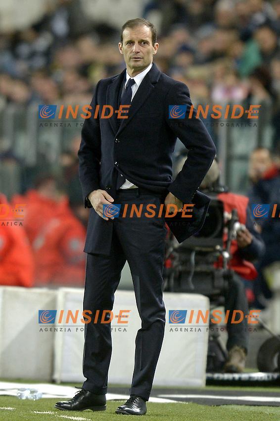 Massimiliano Allegri,<br /> Torino 03-02-2016, Juventus Stadium, Football Calcio 2015/2016 Serie A, Juventus - Genoa, Foto Filippo Alfero/Insidefoto