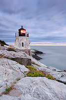 Twilight at Castle Hill Lighthouse