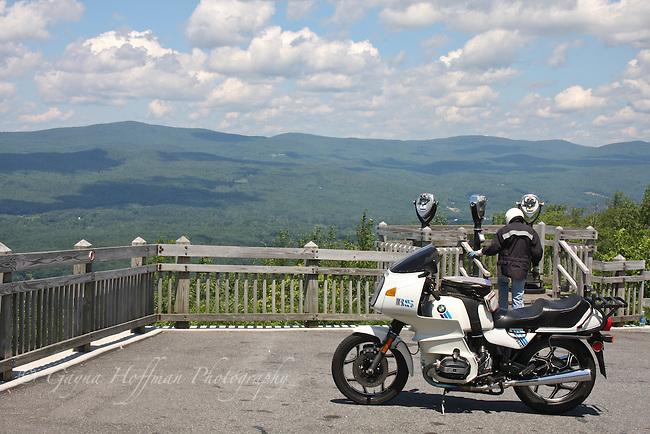 North Adams, MA scenic view area.