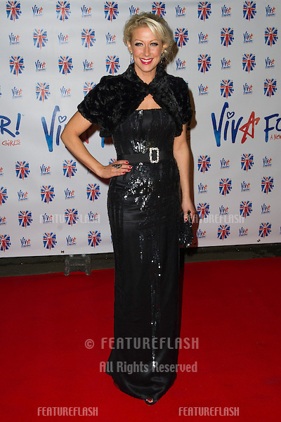 Faye Tozer at the Viva Forever Press Night, London. 11/12/2012 Picture by: Simon Burchell / Featureflash