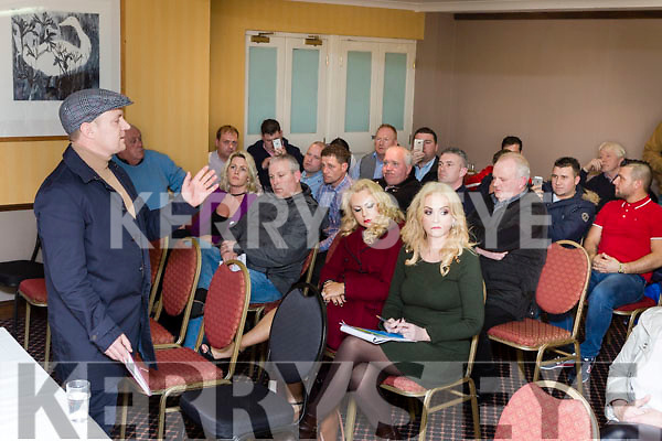 Killarney Travellers protest meeting in Killarney Friday night.