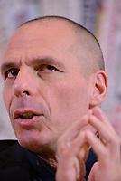 Roma, 24 marzo 2017<br /> Yanis Varoufakis presenta il programma di European New Deal di Diem25 alla stampa estera