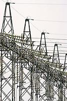 Estação de energia elétrica em Anápolis. Goiás. 2007. Foto de Caetano Barreira.