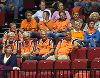 14-sept.-2013,Netherlands, Groningen,  Martini Plaza, Tennis, DavisCup Netherlands-Austria, Doubles,  Supporters <br /> Photo: Henk Koster