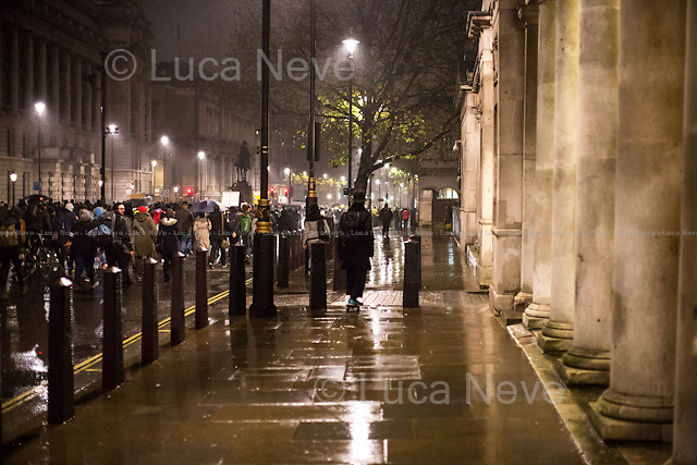Rain-Skating. <br /> <br /> London &amp; Londoners 2014