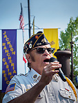 Jack McGee sings the Star Spangled Banner for the opening of the 80th Amador County Fair, Plymouth, Calif.<br /> .<br /> .<br /> .<br /> .<br /> #AmadorCountyFair, #1SmallCountyFair, #PlymouthCalifornia, #TourAmador, #VisitAmador