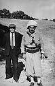 Irak 1970.Ismael Shawess avec le general Mustafa Barzani.Iraq 1970.Ismael Shawess wih Mustafa Barzani