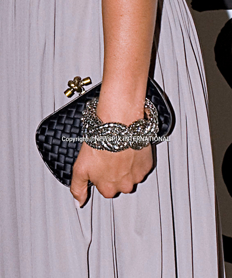 """PRINCESS MADELEINE_(Handbag and bracelet).Attends First Childhood Foundation Gala, London..The World Childhood Foundation, often referred to as simply Childhood, was founded by HM Queen Silvia of Sweden in 1999 in an effort to reach and support children at risk around the world. The foundation's focus is on protecting children from sexual abuse as well as supporting those whom have already fallen victim, with a concentration on girls and young mothers.Childhood currently supports over 115 programs in 14 countries, including Belarus, Brazil, Estonia, Germany, Latvia, Lithuania, Moldova, Poland, Russia, South Africa, Sweden, Thailand, Ukraine and the United States. The foundation also works actively to raise awareness about children's rights and to spread information about the exploitation of children taking place around the world_30/062010.Mandatory Credit Photo: ©DIAS-NEWSPIX INTERNATIONAL..**ALL FEES PAYABLE TO: """"NEWSPIX INTERNATIONAL""""**..IMMEDIATE CONFIRMATION OF USAGE REQUIRED:.Newspix International, 31 Chinnery Hill, Bishop's Stortford, ENGLAND CM23 3PS.Tel:+441279 324672  ; Fax: +441279656877.Mobile:  07775681153.e-mail: info@newspixinternational.co.uk"""
