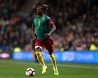 Gaetan Bong of Cameroon and Brighton & Hove Albion during Brazil vs Cameroon, International Friendly Match Football at stadium:mk on 20th November 2018
