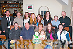HAPPY BIRTHDAY: Eileen Molloy, Meadowlands, Tralee (seated centre) who celebrated her 60th birthday last Friday night with her family in Bella Bia restaurant, Tralee. Seated l-r: Steven, Chris and Eileen Molloy, Caoimhe Ross, Anna Ryan, Annamaria Ross. Back l-r: Ross Ryan, Jamie Ross, Tiva and Katie Ryan, Emma and Gillian Molloy, Alex Ryan and Chris Molloy Jnr.