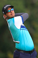 Kshitij Naveed Kaul of Team India on the 6th tee during Round 3 of the WATC 2018 - Eisenhower Trophy at Carton House, Maynooth, Co. Kildare on Friday 7th September 2018.<br /> Picture:  Thos Caffrey / www.golffile.ie<br /> <br /> All photo usage must carry mandatory copyright credit (&copy; Golffile | Thos Caffrey)