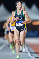 Sarah Dean of Portland State competes in 10000 meter semifinal during West Preliminary Track & Field Championships at John McDonnell Field, Thursday, May 29, 2014 in Fayetteville, Ark. (Mo Khursheed/TFV Media via AP Images)
