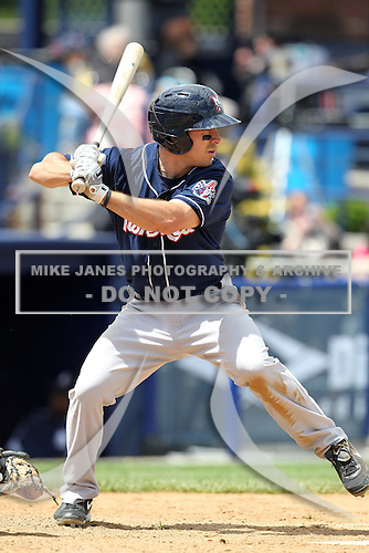 New Hampshire Fisher Cats second baseman Craig Stansberry #6 during a game against the Reading Phillies at FirstEnergy Stadium on May 5, 2011 in Reading, Pennsylvania.  New Hampshire defeated Reading by the score of 10-5.  Photo By Mike Janes/Four Seam Images